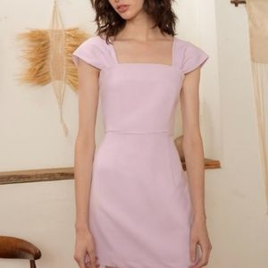Lilac PIXIE MARKET Paloma Pastel Dress